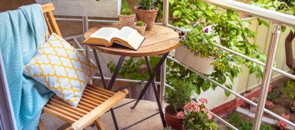 L\'orto di Nicola: fiori e ortaggi sul terrazzo